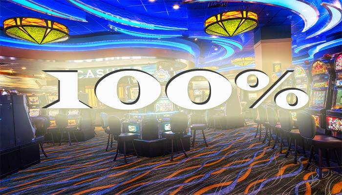 100 kasino bonus norge