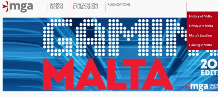 MGA hjemmeside Malta kasino licens